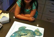 fish cake / by Kristi Hogan