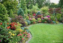 Zahrady a posezení