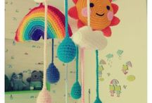 Crochet - Baby mobile
