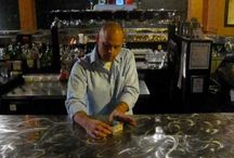 Bar Tricks Tutorials / A collection of bar trick video tutorials from BarsandBartending.com.  How'd you like to be that cool dude who always knows a handful of great bar tricks?  Learn these simple bar tricks to impress your friends or patrons at the bar.