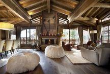 Стиль шале / Древесина, камень, деревянная мебель и наличие камина – вот обязательные атрибуты этого стиля!