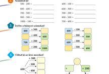 3. osztályos matematika