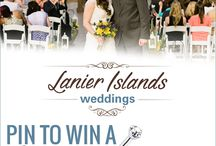 Pin to Win a Wedding at Lanier Islands!!! <3 / by Kimberly Page