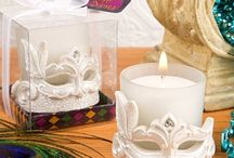 Candles / For couples who choose to make a  romance statement, what better way to preserve the memory of the moment than with candle wedding favors.