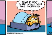 Funnies / Cartoons relating to cold floors