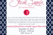 Connection Events / Offer an opportunity to meet and connect with other professional women in a warm and welcoming environment. Each event features a dynamic guest speaker. Guests will walk away feeling inspired and energized. Connection events are typically open to non-members and members and include the signature FEM 30 Second Pitches {who you are, what you do, what you are passionate about, what you are looking for to grow your business, and an endorsement of another FEM}.  / by FemCity Boston