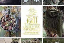 Dekoration im Herbst / Ideen zur Dekoration im Herbst und Weihnachtszeit, für Garten und Haus zur Gestaltung zum dekorieren und zur Inspiration