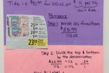 Ratios, Rates and Proportions / Sixth Grade Math