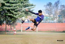 DAMAN DEEP KICKS HIS WAY INTO ZONAL FOOTBALL TEAM