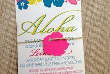 Hawaiian Invitations / Invitations
