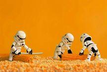 Star Wars Minyatür Figürler | Zahir Batin / Malezyalı fotoğrafçı Zahir Batin, minyatür Star Wars figürlerini değişik konseptlerle fotoğraflıyor! #StarWars