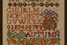 Seasons & Seasonal Samplers - Cross Stitch  / Seasons in Cross Stitch! Quick to stitch, fun and decorative designs.  For more information on these and other designs by Turquoise Graphics & Designs, please visit www.tgdcharts.com
