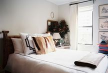 Bedrooms / Inspiration Board about various types of bedrooms