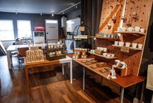 Pretty Shiny Shop / Our Shop can be found at 67 Stroud Green Road, between Finsbury Park and Crouch Hill tube stations.
