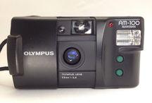 Olympus AM100 35mm f/3.5 Point & Shoot Film Camera w
