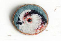 Птицы (вышивка)