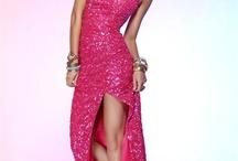 sukienka rozowa