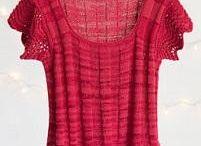 Kötött topok, pulóverek / Knit tops, sweaters