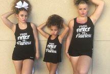 Cheerleading showcase