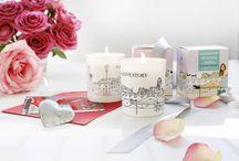 Sélection cadeaux Saint-Valentin / Bougies la Française, un parfum de romantisme.