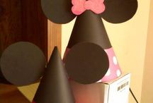 minnie - mickey mouse party / by Despina Spanaki