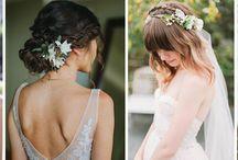Kwiaty we włosach / kwiaty we włosach na ślubie, kwiaty z welonem, wianki z welonem, wianki kwiatowe na ślubie, wianki na ślub, wianki we włosy, kwiaty we włosy, ślub, wesele, wianki na głowę