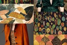 Fabrics and patterns