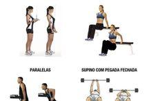 Exercícios tríceps
