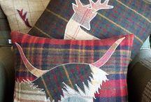 Scotland pillows