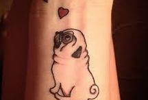 tattoo pug
