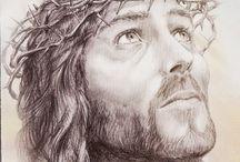 Art - Jesus / by Retta Book