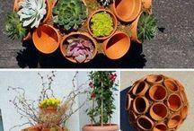 Basteln für Garten