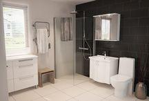 Temal kylpyhuone - Ronja / Ronja - allaskaapit