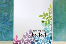 Beautiful & Simple Stamping / Beautiful examples of simple stamping