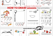 Drawing , How To / This board is about things I want to draw, or learn to draw.  Drawing is my favorite hobbie! / by Deb Pomeroy