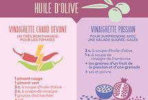 Vinaigrettes et saveurs saine