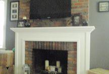 Fireplace mantel's