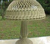 Плетеные абажуры