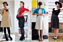 Vintage Maternity Style
