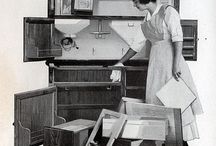 McDougall, Indiana and Hoosier cabinets