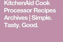 Kitchen Aid Cook Processor Rezepte