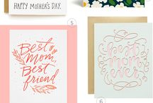 // greeting cards - mother's  & Father's Day
