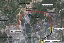 Başakşehir Kayaşehir arasındaki metro çalışmalarında ÇED süreci başlatıldı.