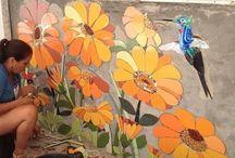 mural mosaico