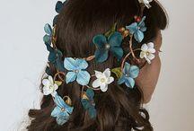 Textiles head piece idea