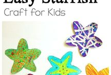 Ocean and Sea Life Crafts and Activities for Kids / Ocean and sea life crafts and learning and sensory activities for kids including projects about fish, whales, sharks, starfish, tide pools, the beach, and more!