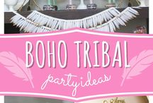 Boho Party Ideas