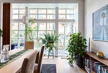 Spaces / Home Sweet Home, Beautiful and inspiring spaces