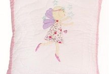 Fairy themed bedrooms / Fairy themed bedding and accessories for little girls including duvet covers, mirrors and cushions