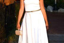 Date Night White! / Strapless White Dress for Summer 2016